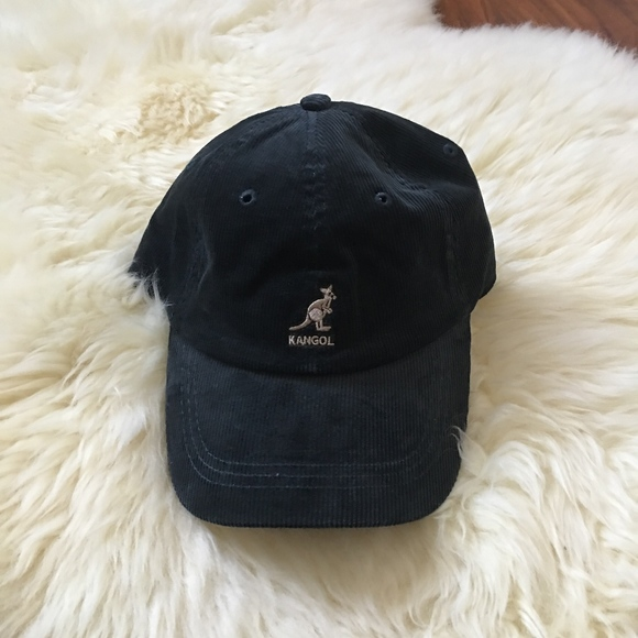 bd843767b70 NWT Kangol Logo Corduroy Strapback Dad Hat
